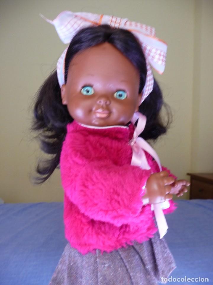 Otras Muñecas de Famosa: Muñeca Graciosa negra negrita años 70 epoca Nancy - Foto 2 - 138714214