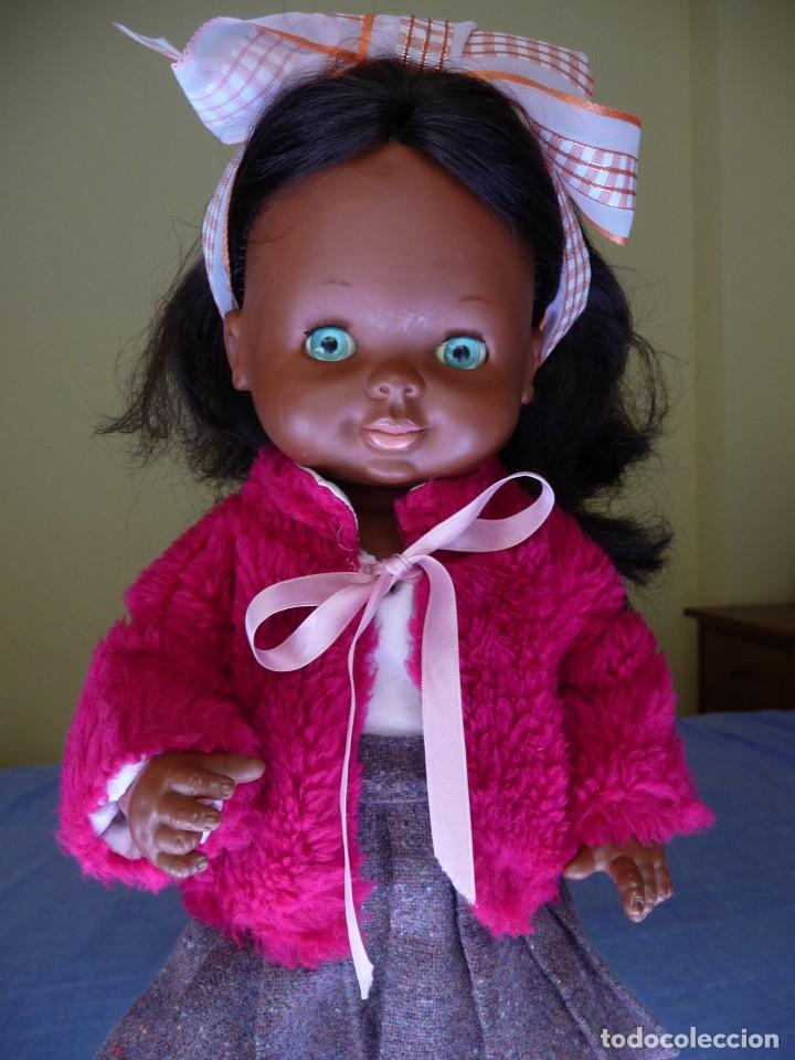 Otras Muñecas de Famosa: Muñeca Graciosa negra negrita años 70 epoca Nancy - Foto 4 - 138714214
