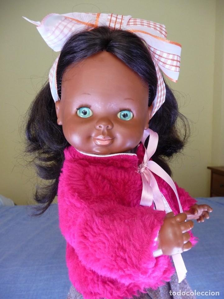 Otras Muñecas de Famosa: Muñeca Graciosa negra negrita años 70 epoca Nancy - Foto 9 - 138714214