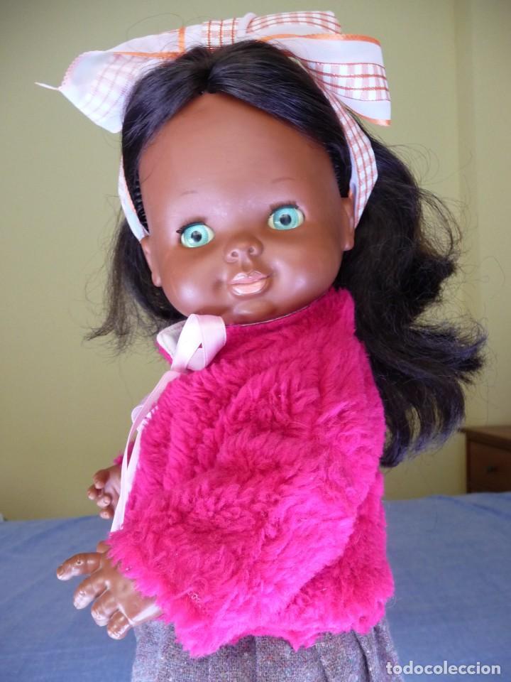 Otras Muñecas de Famosa: Muñeca Graciosa negra negrita años 70 epoca Nancy - Foto 11 - 138714214