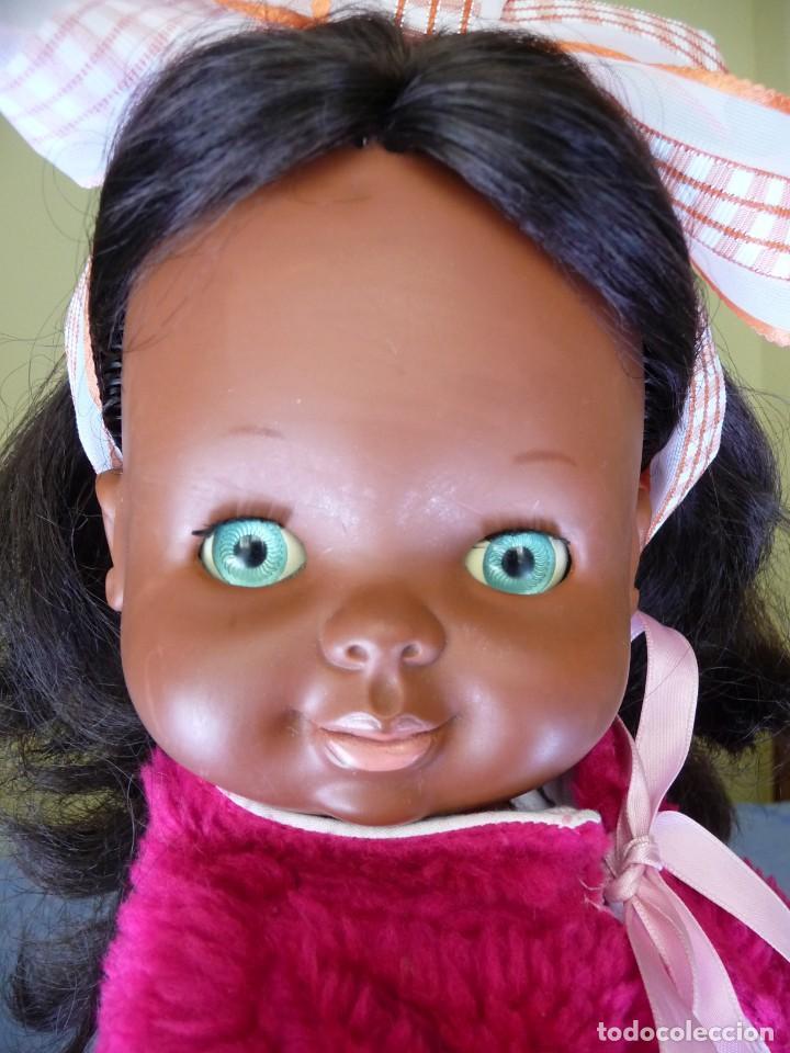 Otras Muñecas de Famosa: Muñeca Graciosa negra negrita años 70 epoca Nancy - Foto 12 - 138714214