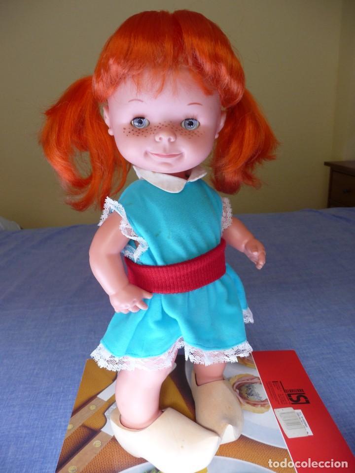 Otras Muñecas de Famosa: Muñeca chatuca pelirroja pipi años 70 epoca Nancy con zuecos - Foto 2 - 138714330