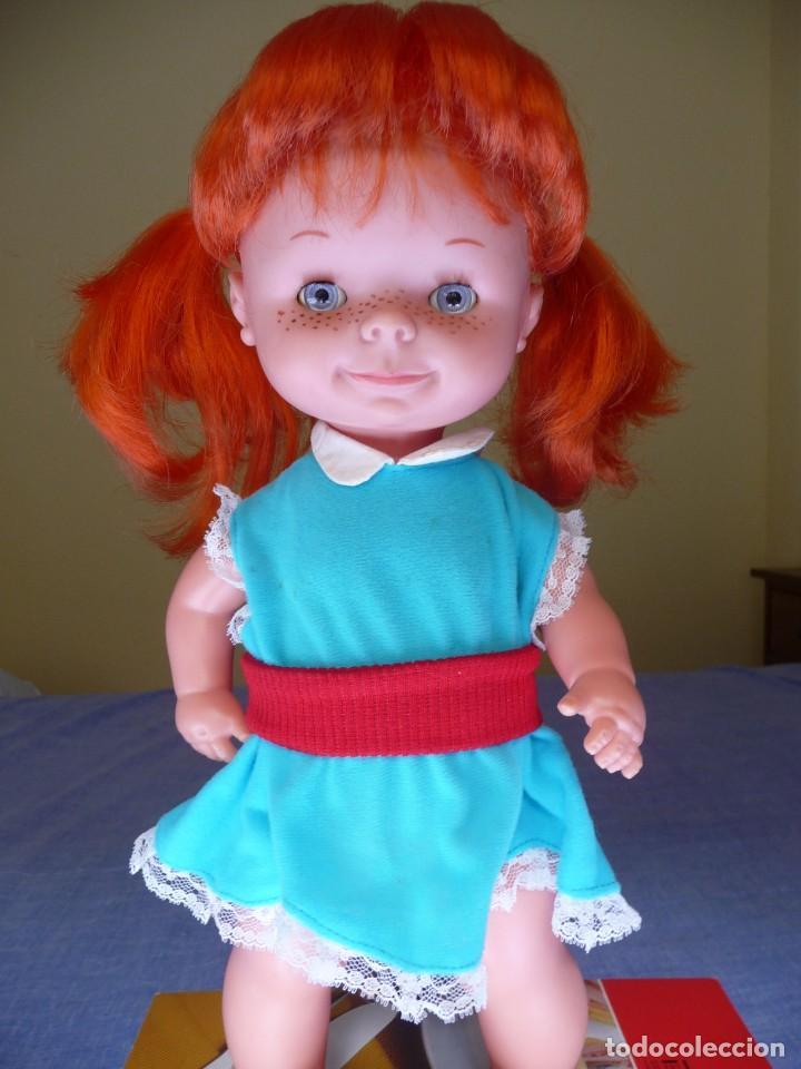 Otras Muñecas de Famosa: Muñeca chatuca pelirroja pipi años 70 epoca Nancy con zuecos - Foto 4 - 138714330