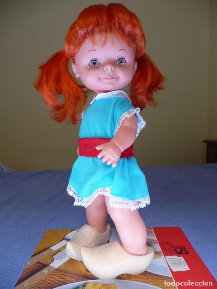 Otras Muñecas de Famosa: Muñeca chatuca pelirroja pipi años 70 epoca Nancy con zuecos - Foto 7 - 138714330