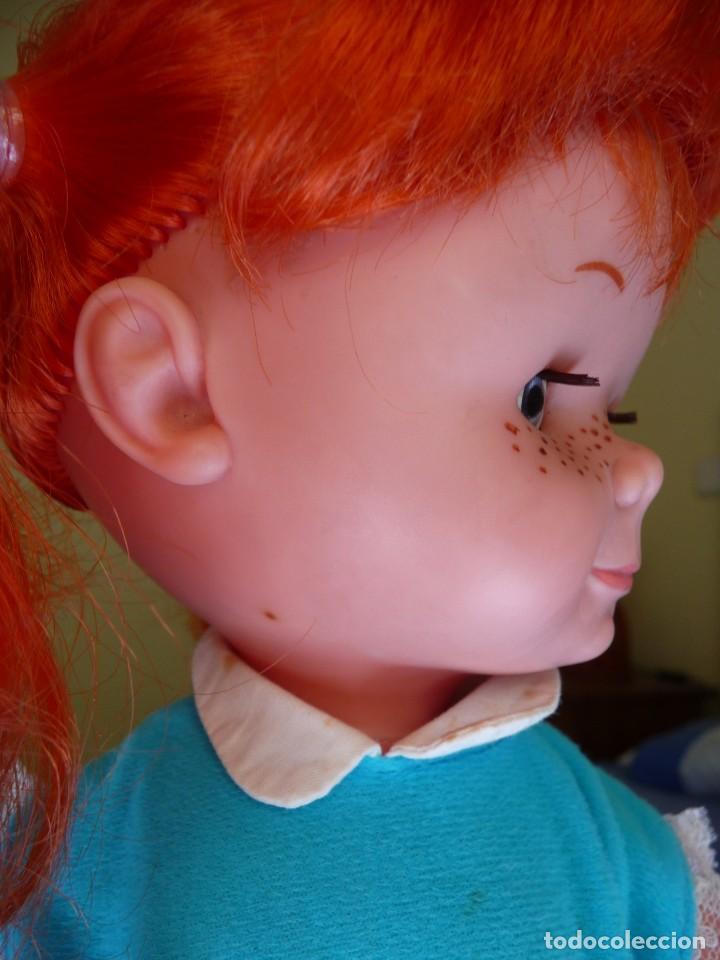 Otras Muñecas de Famosa: Muñeca chatuca pelirroja pipi años 70 epoca Nancy con zuecos - Foto 8 - 138714330