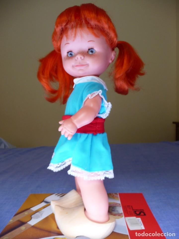 Otras Muñecas de Famosa: Muñeca chatuca pelirroja pipi años 70 epoca Nancy con zuecos - Foto 9 - 138714330