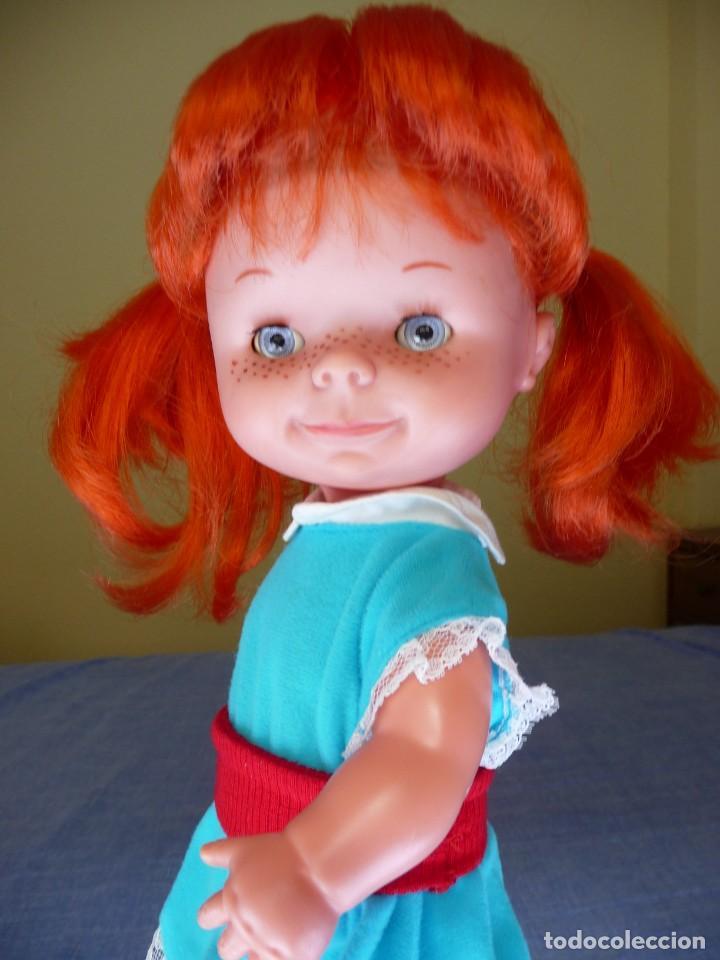 Otras Muñecas de Famosa: Muñeca chatuca pelirroja pipi años 70 epoca Nancy con zuecos - Foto 10 - 138714330