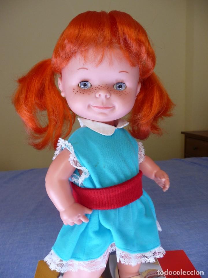 Otras Muñecas de Famosa: Muñeca chatuca pelirroja pipi años 70 epoca Nancy con zuecos - Foto 11 - 138714330