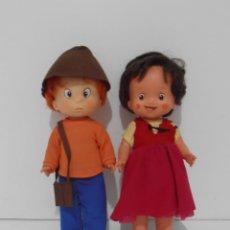 Otras Muñecas de Famosa: MUÑECA HEIDI Y MARCO, FAMOSA ORIGINAL AÑOS 70. Lote 151162892