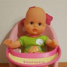Otras Muñecas de Famosa: MUÑECA NENUCO CON SU TRONA. Lote 140938482