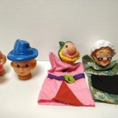 Otras Muñecas de Famosa: LOTE DE 4 MARIONETAS DE FAMOSA AÑOS 70. Lote 141235885