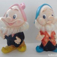 Otras Muñecas de Famosa: ENANITOS BLANCANIEVES Y LOS SIETE ENANITOS .AÑOS 70 - . Lote 141332918