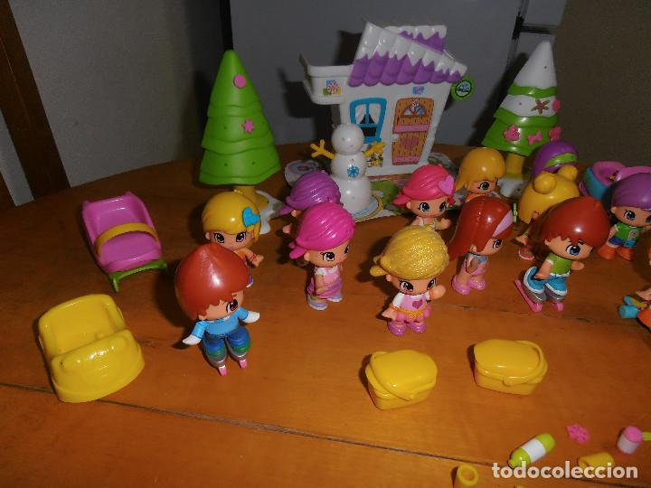 Otras Muñecas de Famosa: LOTE FIGURAS PINYPON MAS ACESORIOS - Foto 4 - 141504590
