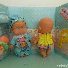 Otras Muñecas de Famosa: MUÑECOS PRIMITOS. MARCA FAMOSA NUEVO, A ESTRENAR. Lote 141534434