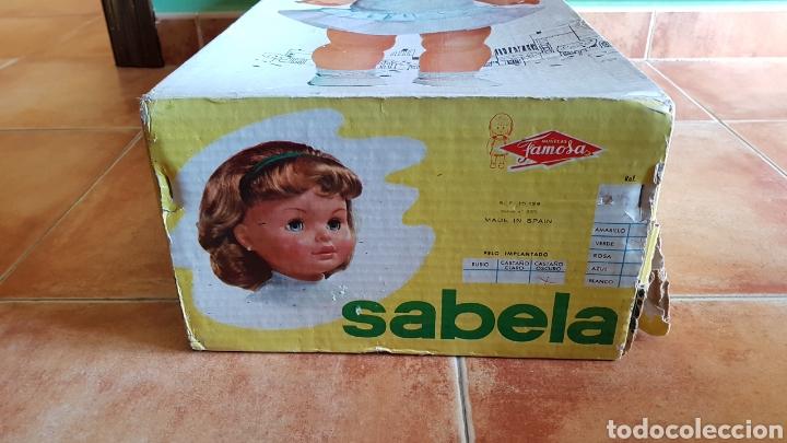 Otras Muñecas de Famosa: DIFÍCIL CAJA MUÑECA SABELA DE FAMOSA AÑOS 60 - Foto 5 - 142142946