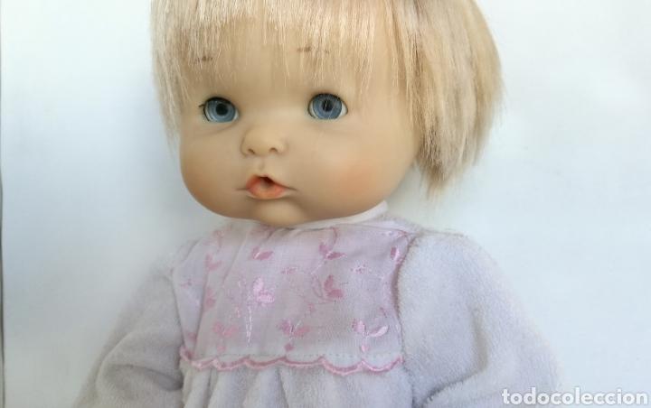 Otras Muñecas de Famosa: Nenuco ojos margarita azules Famosa, rubio flequillo años 70 bebe niña - Foto 3 - 142397998