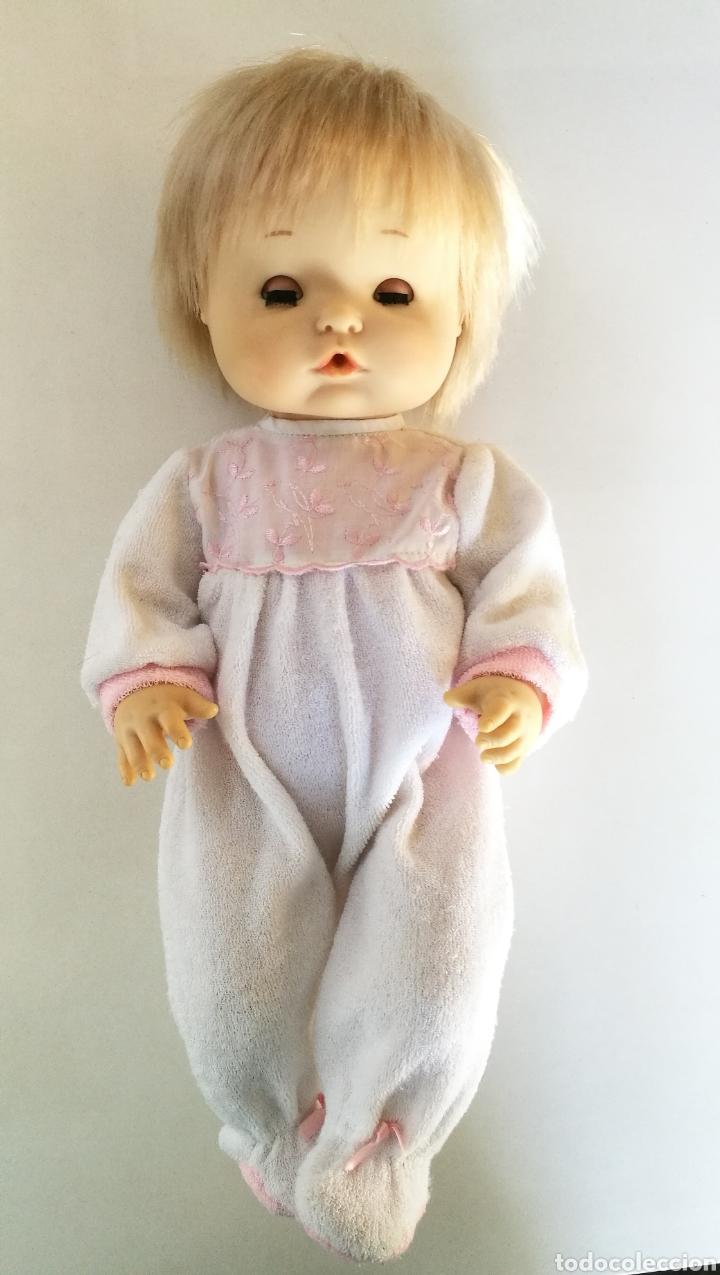 Otras Muñecas de Famosa: Nenuco ojos margarita azules Famosa, rubio flequillo años 70 bebe niña - Foto 5 - 142397998