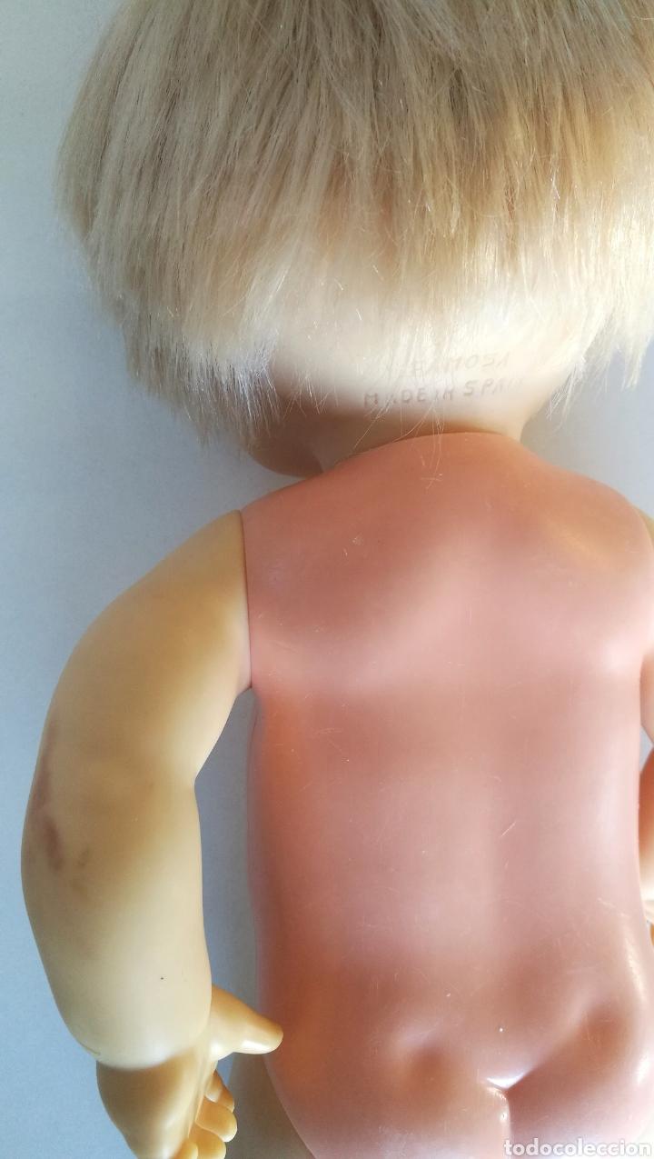 Otras Muñecas de Famosa: Nenuco ojos margarita azules Famosa, rubio flequillo años 70 bebe niña - Foto 9 - 142397998