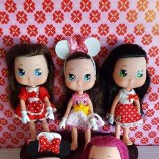 Otras Muñecas de Famosa: LOTE 5 MUÑECAS MINIE-FAMOSA. Lote 142825958