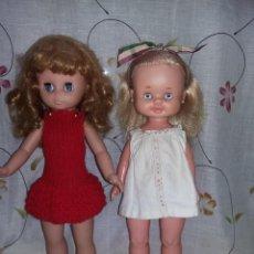 Otras Muñecas de Famosa: PRECIOSA MUÑECA BEGOÑA DE FAMOSA AÑOS 60/70 RAYA AL LADO MUY BUEN ESTADO. Lote 143092450