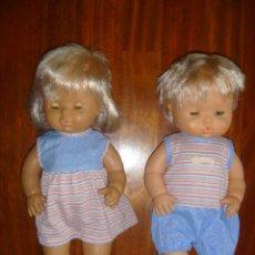 Otras Muñecas de Famosa: PAREJA NENUCOS FAMOSA AÑOS 80 OFERTÓN . Lote 143887194