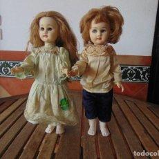 Otras Muñecas de Famosa: PAREJA DE MUÑECAS REVIVAL DE FAMOSA NIÑO NIÑA LEER. Lote 144245018