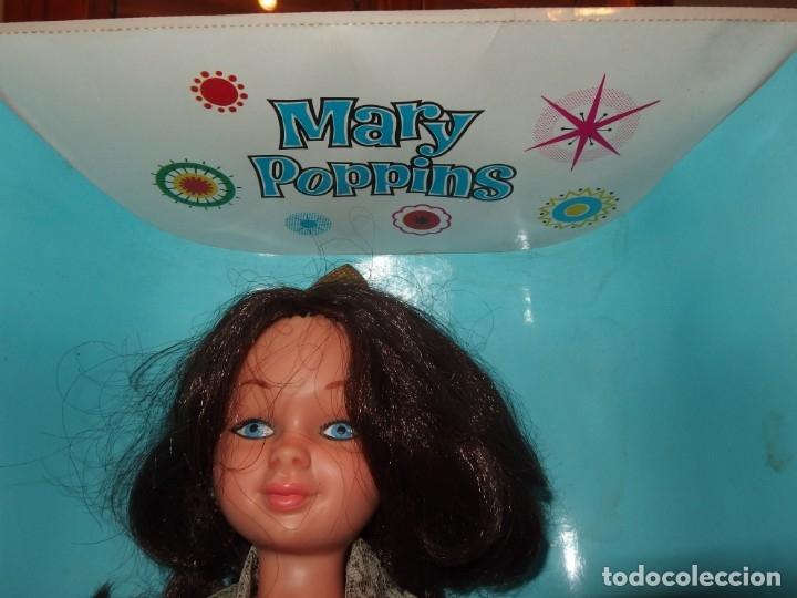 Otras Muñecas de Famosa: MARY POPPINS DE FAMOSA,WALT DISNEY,VESTIDA DE VALENCIANA FALLERA,CAJA ORIGINAL,AÑO 1964 - Foto 2 - 145228318