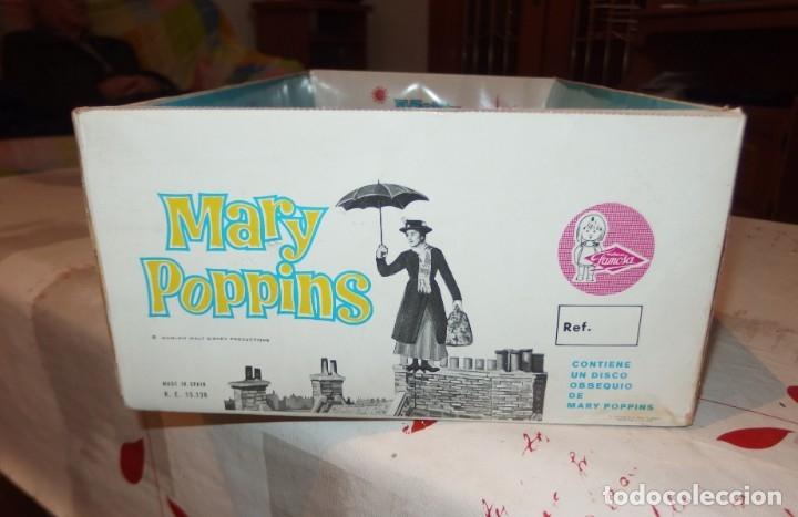 Otras Muñecas de Famosa: MARY POPPINS DE FAMOSA,WALT DISNEY,VESTIDA DE VALENCIANA FALLERA,CAJA ORIGINAL,AÑO 1964 - Foto 3 - 145228318