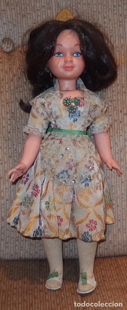 Otras Muñecas de Famosa: MARY POPPINS DE FAMOSA,WALT DISNEY,VESTIDA DE VALENCIANA FALLERA,CAJA ORIGINAL,AÑO 1964 - Foto 4 - 145228318