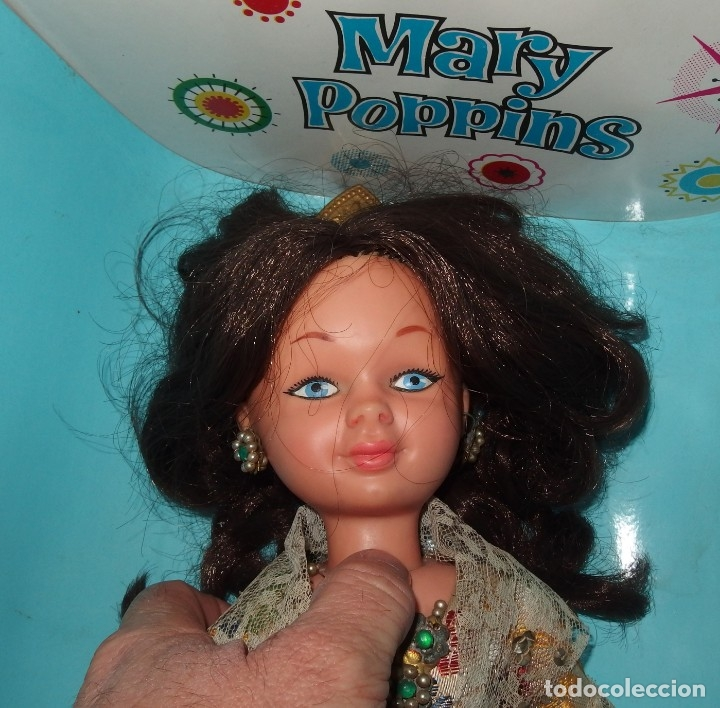 Otras Muñecas de Famosa: MARY POPPINS DE FAMOSA,WALT DISNEY,VESTIDA DE VALENCIANA FALLERA,CAJA ORIGINAL,AÑO 1964 - Foto 9 - 145228318