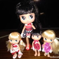 Otras Muñecas de Famosa: LOTE 4 MUÑECAS I LOVE MINNIE MOUSSE FAMOSA. Lote 145282194