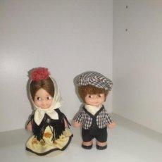Otras Muñecas de Famosa: MUÑECAS TIN TAN DE FAMOSA CHULAPOS. Lote 145424514