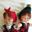 Otras Muñecas de Famosa: PAREJA DE GALLEGUITOS BALINES. Lote 145703238