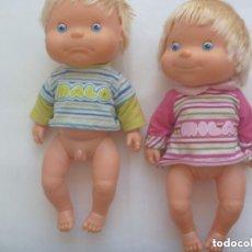 Otras Muñecas de Famosa: PAREJA DE MUÑECOS : MILA Y MALO, DE FAMOSA.. Lote 146394718