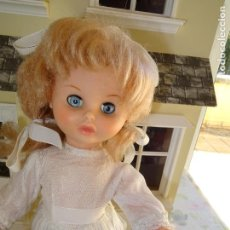 Otras Muñecas de Famosa: ANTIGUA MUÑECA EVELIN DE FAMOSA AÑOS 50/60. Lote 147029734