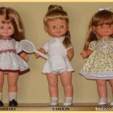 Otras Muñecas de Famosa: MUÑECAS MALENI, MARILOLI Y CAROLIN DE FAMOSA. Lote 147064022