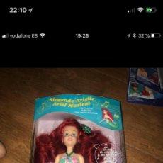 Otras Muñecas de Famosa: ARIEL DISNEY TYCO. Lote 147246277