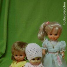 Otras Muñecas de Famosa: LOTE DE TRES MUÑECAS DE FAMOSA. Lote 147283766