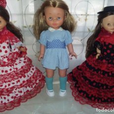 Otras Muñecas de Famosa: PRECIOSA MUÑECA MARINA DE FAMOSA AÑOS 60/70 ROPITA ORIGINAL ETIQUETA Nº 64 PELO COLOR CERVEZA. Lote 147710078