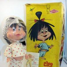 Otras Muñecas de Famosa: ANTIGUA MUÑECA CLEO DE FAMOSA - 1963 - FAMILIA TELERIN - NUEVA A ESTRENAR Y EN SU CAJA ORIGINAL. Lote 148554693