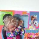Otras Muñecas de Famosa: GRAN MUÑECA DE TRAPO COMPI CARITAS DAMOSA 1993.NUEVA EN CAJA.. Lote 165511552