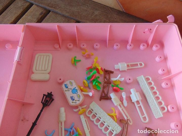 Otras Muñecas de Famosa: CHALET MALETIN CASA DE PIN Y PON DE FAMOSA LAS PIEZAS QUE SE VEN EN LAS FOTOS - Foto 3 - 150949098