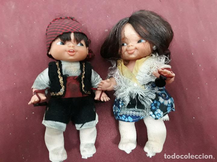 PAREJA MAÑOS DE FAMOSA (Juguetes - Muñeca Española Moderna - Otras Muñecas de Famosa)