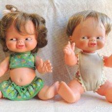 Otras Muñecas de Famosa: PAREJA GRASITIN DE FAMOSA - GRASITIN Y GRASITINA. Lote 151103338