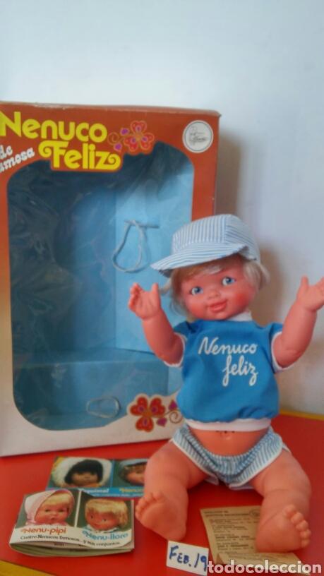 MUÑECO NENUCO FELIZ.FAMOSA 80S.NUEVO EN CAJA. (Juguetes - Muñeca Española Moderna - Otras Muñecas de Famosa)