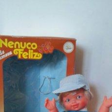 Otras Muñecas de Famosa: MUÑECO NENUCO FELIZ.FAMOSA 80S.NUEVO EN CAJA.. Lote 151475525