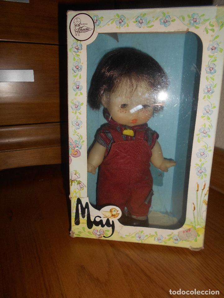 Otras Muñecas de Famosa: MUÑECA MAY NIÑA MORENA DE FAMOSA OJOS DURMIENTES - Foto 3 - 151978214