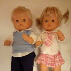 Otras Muñecas de Famosa: NENUCO Y NENUCA COLEGIAL COMPLETOS FAMOSA. Lote 153381016