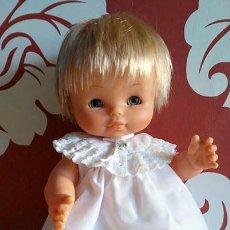 Otras Muñecas de Famosa: MUÑECO CHIQUITIN RUBIO OJOS AZULES DE FAMOSA SEXADO NIÑO CON ROPITA ORIGINAL. Lote 155337018