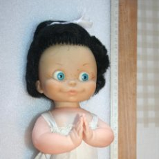 Otras Muñecas de Famosa: ANTIGUA MUÑECA DE BERJUSA DE LA FAMILIA TELERIN, BUENAS NOCHES, AÑOS 60 / 70 *** ALTURA 25 CMS. Lote 155386498